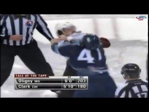 Jimmy Oligny vs Emerson Clark