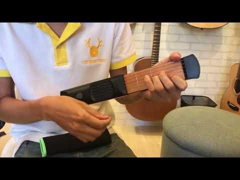 Pocket Guitar Practice Tool Portable Chord Trainer Guitar Finger
