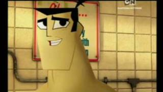 Samurai Jack & Johnny Bravo Bumper - Laundry Day