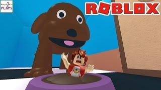ПОБЕГ ИЗ ЗООМАГАЗИНА в РОБЛОКС - Гигантская Собака Съела Меня!!! ГДЕ ЖЕ ВЫХОД??? ROBLOX ПО РУССКИ