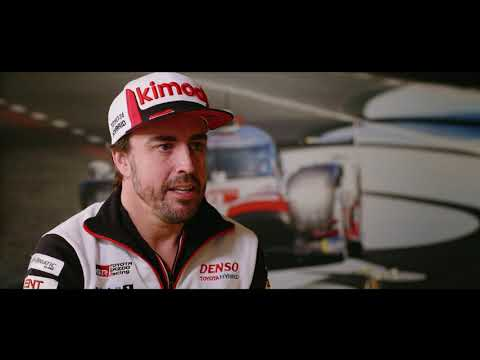 Q&A with Fernando Alonso - 2019 Le Mans 24 Hours -  Michelin Motorsport
