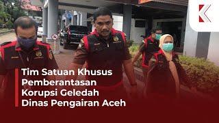 [VIDEO] Jaksa Geledah Dinas Pengairan Aceh Terkait Dugaan Korupsi Proyek Irigasi Abdya
