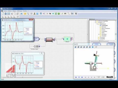 Etude SinusPhy : Asservissement d'un bras de robot Maxpid