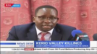 Section of Rift Valley MPs want gov't to arm Elgeyo Marakwet teachers over banditry attacks