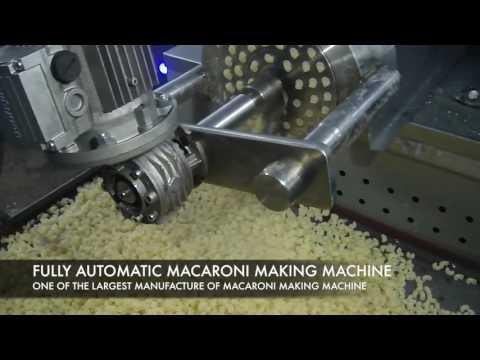Macaroni Making Machine