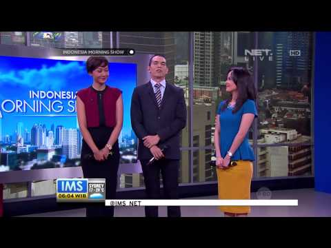 Penampilan host indonesia morning show menyanyikan lagu hari ayah   ims