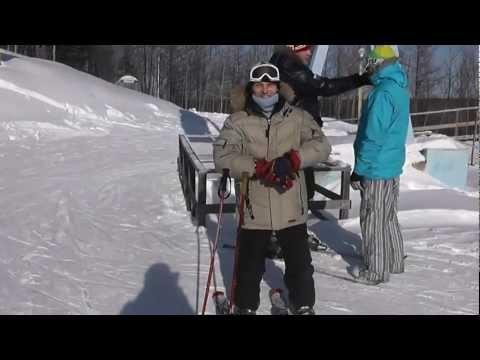 Видео: Видео горнолыжного курорта Холдоми в Хабаровский край