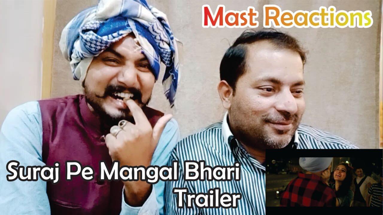 Reactions Suraj Pe Mangal Bhari