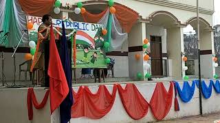 preview picture of video 'Speech on Republic day at Sacred Heart Academy in Gorakhpur'