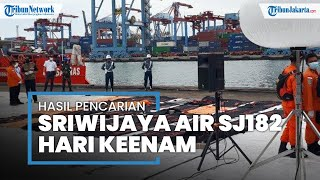 Hari Keenam, Petugas Evakuasi 36 Kantung Body Part dan 1 Kantung Serpihan Pesawat Sriwijaya SJ 182