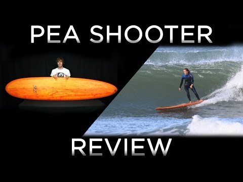 SBS 2016 PEA SHOOTER Surfboard Review