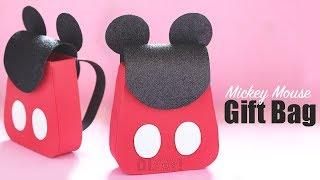 DIY Gift Bag | Gift Ideas | DIY Mickey Gift Bag
