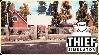 THIEF SIMULATOR - NUOVA ZONA IN CUI RUBARE! - GAMEPLAY ITA