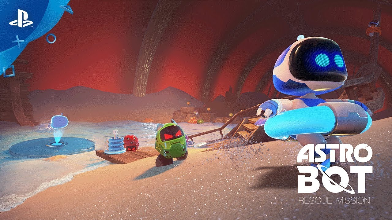 The Origins of Astro Bot Rescue Mission, Out Today