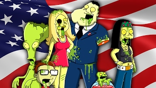 AMERICAN DAD 2017 ZOMBIES (Call of Duty Zombies)