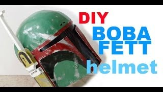#1: Boba Fett Helmet Part 1 - Cardboard With Template | How To | Dali DIY