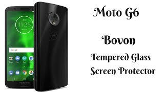 Moto G6 Bovon Tempered Glass Screen Protector