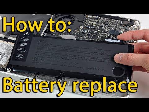 Acer Aspire ES1-512, ES1-531 battery replacement