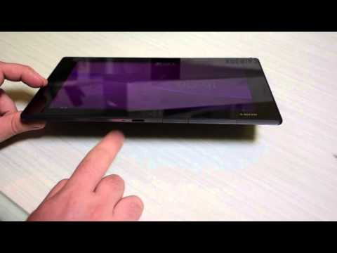 Sony Xperia Z2 Tablet, unboxing e prime impressioni