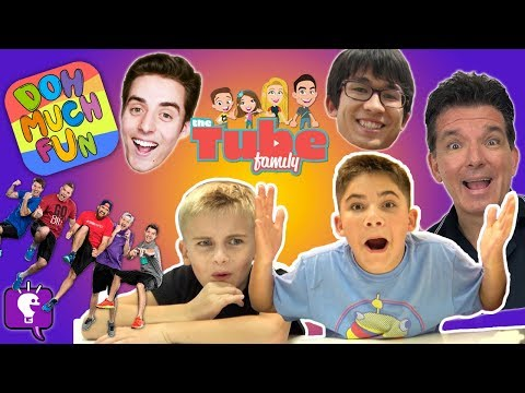Guess That YouTuber! Challenge Part 2 with HobbyKidsTV