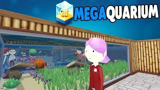 BIGGER & BETTER Aquarium BUILDING & More MONEY | Megaquarium Gameplay 2
