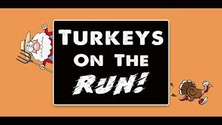 Thanksgiving PE Games: Turkeys On The Run