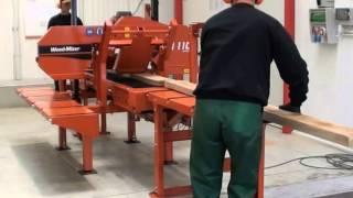 Sierra de cinta Horizontal Wood-Mizer HR110-115 Hersan