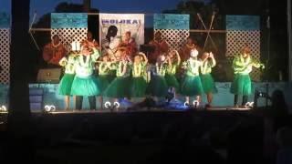 preview picture of video 'Moana's Hula Halau Kupuna back from taking 2nd place on Kona'