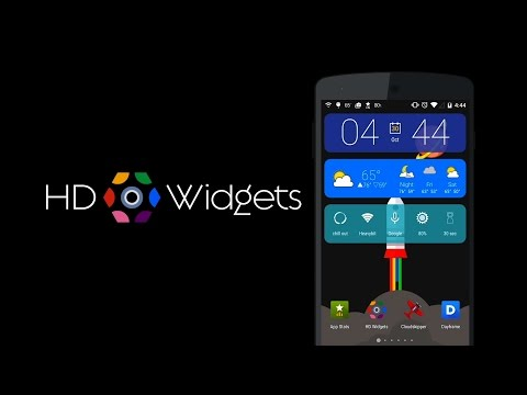 Video of HD Widgets