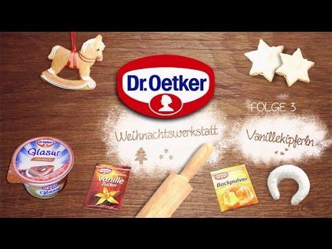 Dr. Oetker Weihnachtswerkstatt Folge 3: Vanillekipferl