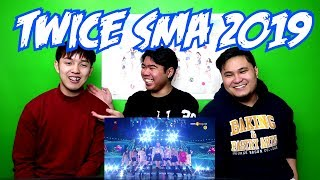 TWICE   YES OR YES + DANCE THE NIGHT AWAY SMA 2019 REACTION (FUNNY FANBOYS)