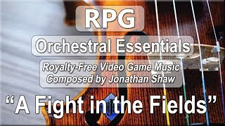 """Free Video Game Music - """"A Fight in the Fields"""" (RPG Orchestral Essentials)"""
