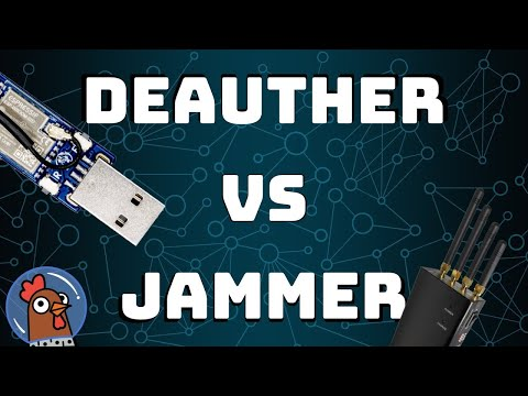 Deauther or Jammer: What's the difference?