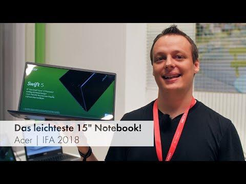 Das leichteste 15-Zoll-Notebook der Welt | Acer [IFA 2018]