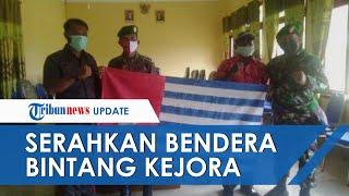 Warga Suku Sougb Papua Serahkan Bendera Bintang Kejora yang Dianggap Jadi Lambang Separatis OPM