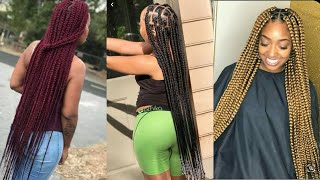2020 BEST BOX BRAIDS HAIRSTYLES FOR BLACK WOMEN/ BEST BRAIDS HAIRSTYLES 2020