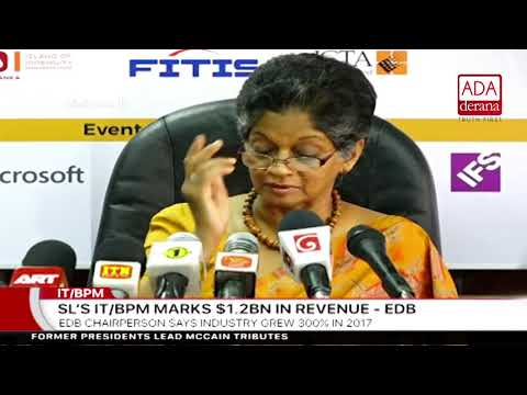 SL's IT/BPM Marks $1.2 Bn in Revenue - EDB