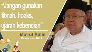 PCNU Kota Tangerang Deklarasikan Dukungan Paslon 01, Ma'ruf Ingin Menang Telak di Kota Tangerang