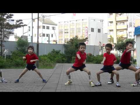 茅渟の浦幼稚園カンフーチーム 2011年三国志祭 新武術コンテ