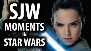 SJW Moments in Star Wars: The Last Jedi
