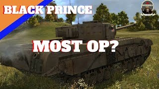Black Prince Most OP tank In World of Tanks Blitz?