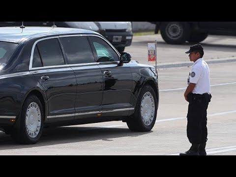 Аргентинские СМИ назвали лимузин Путина бункером на колесах