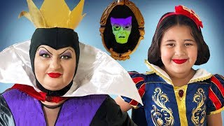 Disney Snow White And Evil Queen | Makeup Halloween Costumes And Toys