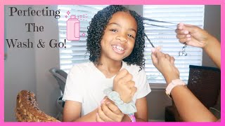 💞HOW TO GET THE PERFECT WASH AND GO ON KIDS NATURAL HAIR💞