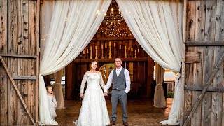 Burlap & Beams Wedding Video, Shannon & Justins Athol Wedding