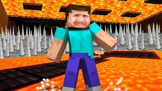 WHY A MINECRAFT NOOB SHOULD NEVER PLAY DEATH RUN