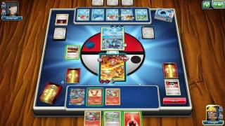 MEGA CHARIZARD TO THE RESCUE (Watch 'till VERY End!) Pokemon Trading Card Game Online #1