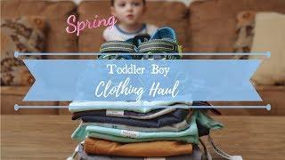 Spring Toddler Boy Clothing Haul