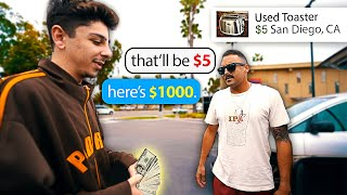 Highballing Strangers on the Internet & ACTUALLY Paying for It...