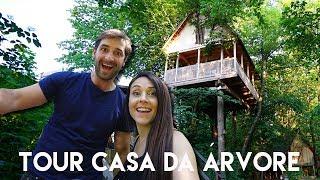 TOUR NA CASA NA ÁRVORE | Casinha Travel and Share | Romulo e Mirella T4. Ep.195